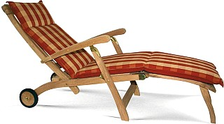 teak deckchair mit r dern by matahari teak gartenm bel shop living elegance. Black Bedroom Furniture Sets. Home Design Ideas